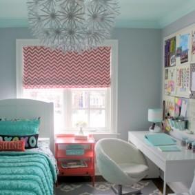 декор маленькой комнаты