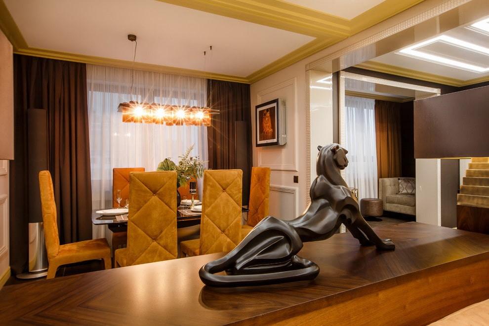 Декор гостиной в стиле арт деко