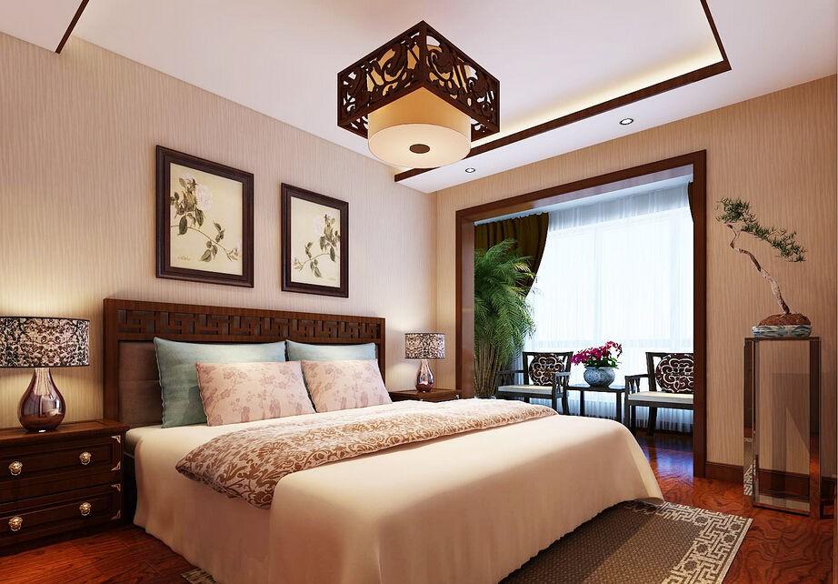 декор восточной спальни