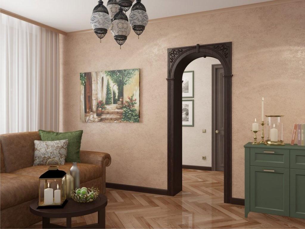 декоративные арки в квартире пвх декор