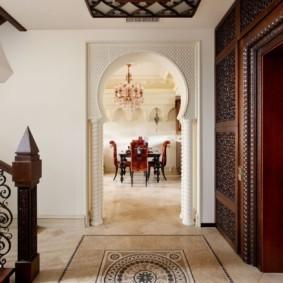 декоративные арки в квартире фото