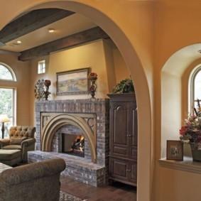 декоративные арки в квартире декор фото