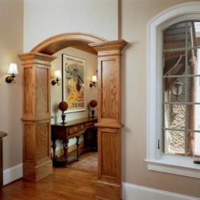 декоративные арки в квартире фото декор