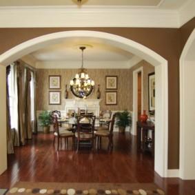 декоративные арки в квартире идеи