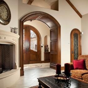декоративные арки в квартире оформление