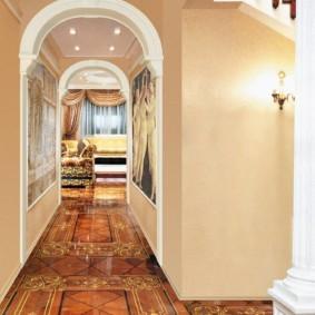 декоративные арки в квартире оформление фото