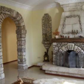 декоративные арки в квартире фото оформление