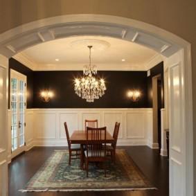 декоративные арки в квартире фото оформления
