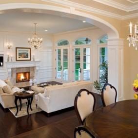 декоративные арки в квартире дизайн
