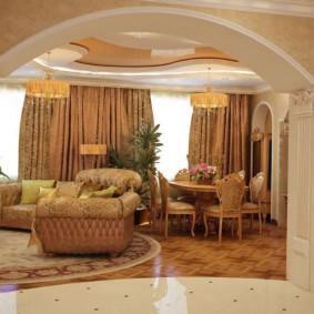 декоративные арки в квартире варианты идеи