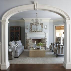 декоративные арки в квартире идеи варианты