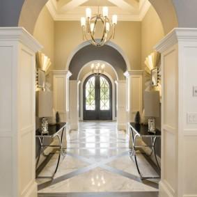 декоративные арки в квартире дизайн фото