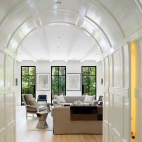 декоративные арки в квартире фото видов