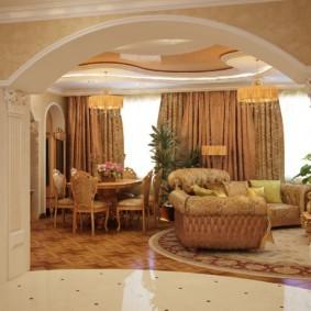 декоративные арки в квартире виды идеи