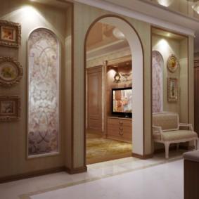 декоративные арки в квартире обзор