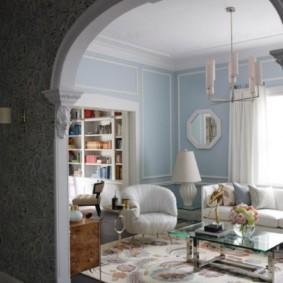 декоративные арки в квартире виды дизайна