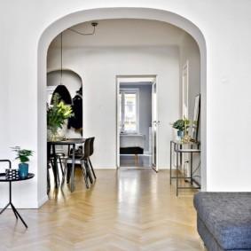 декоративные арки в квартире виды оформления