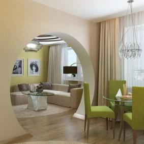 декоративные арки в квартире фото дизайна