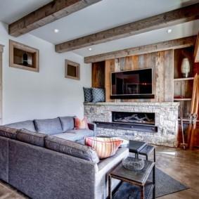 современная гостиная в квартире виды