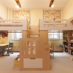 детская для разнополых детей дизайн фото