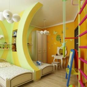 детская для разнополых детей фото дизайна