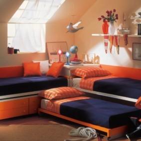 детская комната для троих детей идеи оформление