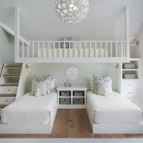 детская комната для троих детей фото видов