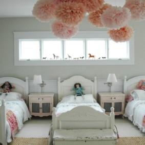 детская комната для троих детей идеи виды