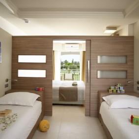 детская комната для троих детей обзор