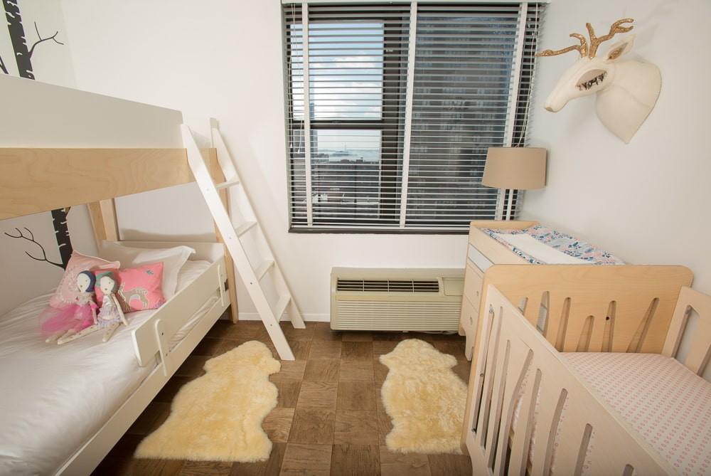 детская комната для троих детей идеи интерьера