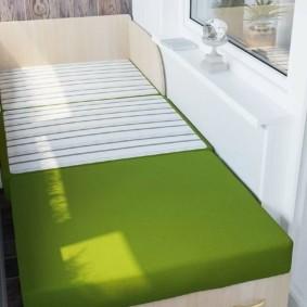 диван на балкон идеи оформление