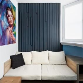 диван на балкон фото дизайн
