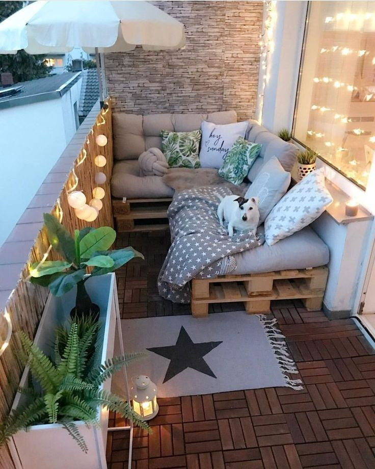 диван на балкон фото виды