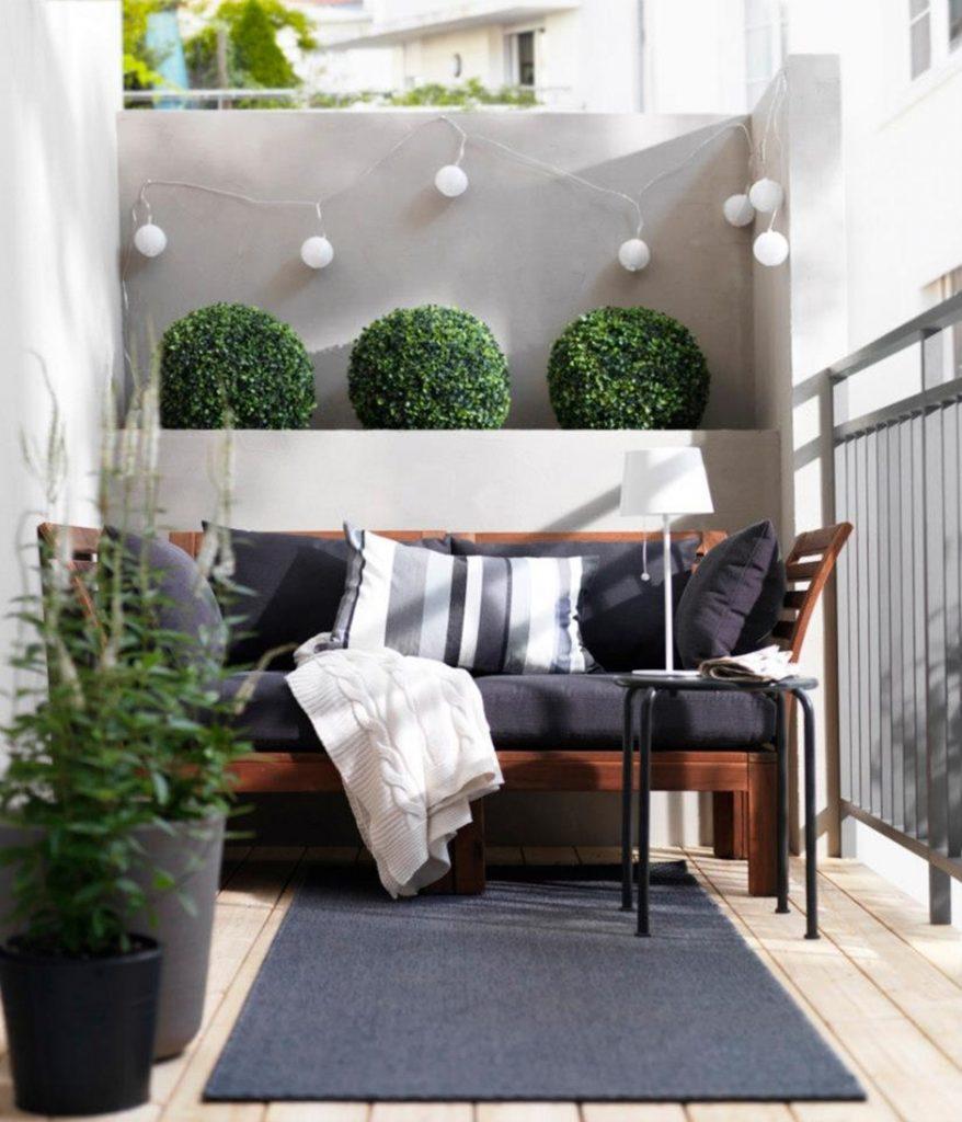 диван на балкон виды идеи