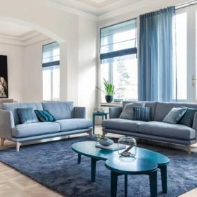 диван в гостиную интерьер фото