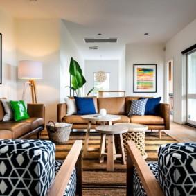 диван в гостиную оформление