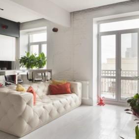 диван в гостиную виды