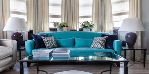 диван в гостиной фото виды