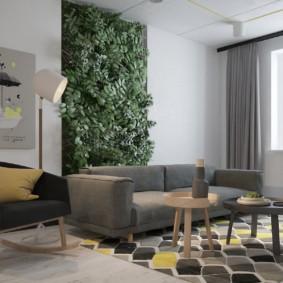 диван в гостиной фото видов