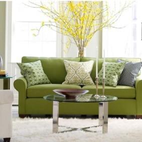 диван в гостиной идеи дизайн