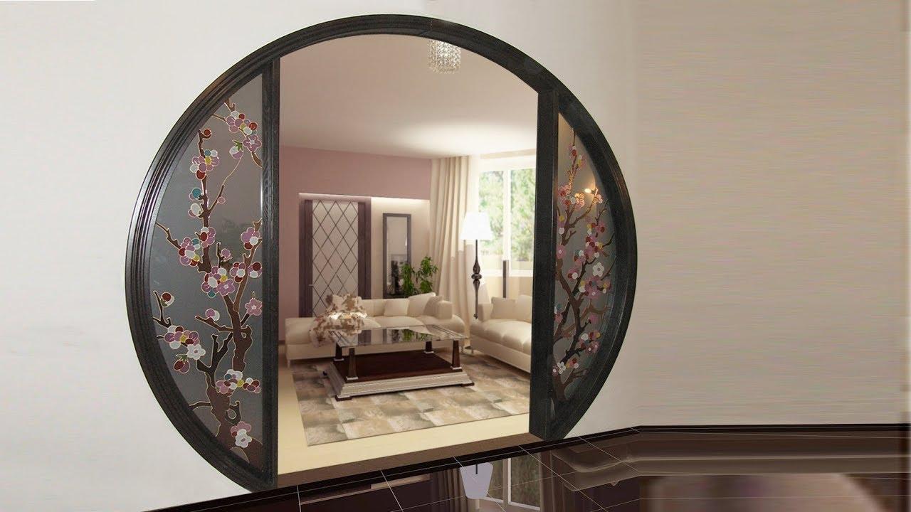 дизайн арки из витражного стекла