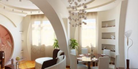дизайн арки в интерьере квартиры