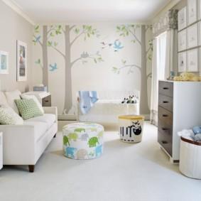 современная детская комната виды