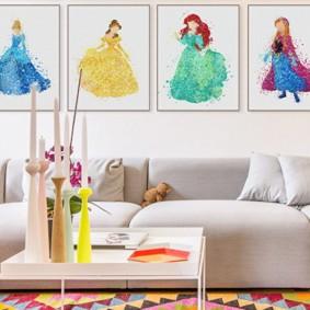 современная детская комната идеи интерьера