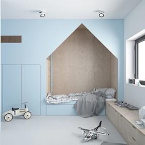 современная детская комната интерьер идеи
