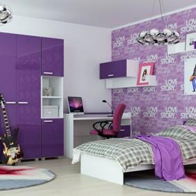современная детская комната идеи декор