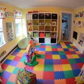 современная детская комната декор идеи