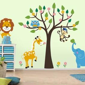современная детская комната фото декора