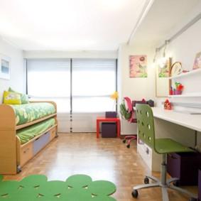 современная детская комната фото декор