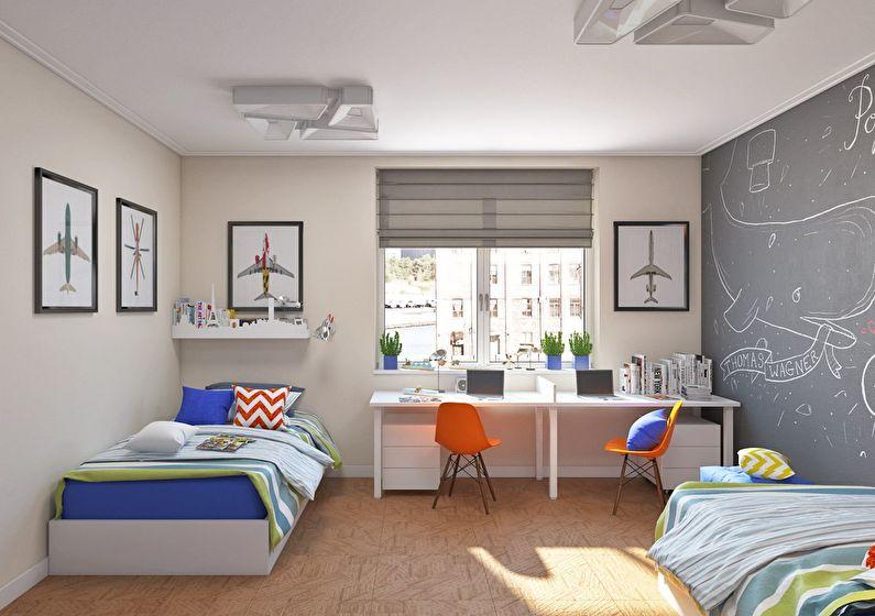 дизайн детской комнаты для детей варианты